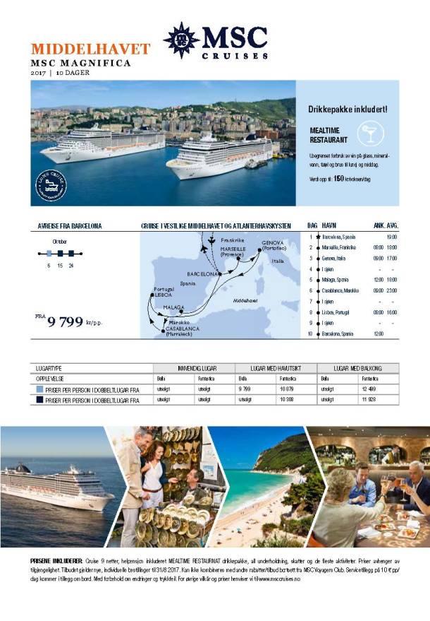 MED 2017 MSC_Magnifica_long cruises_NOK
