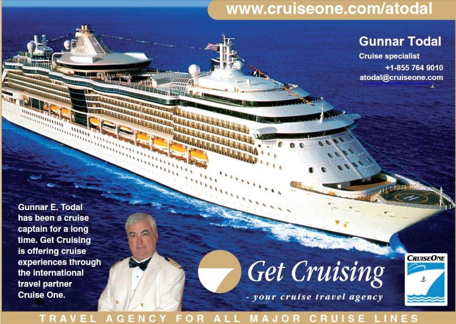 Cruiseferier Cruiseone Cruisetravelagency