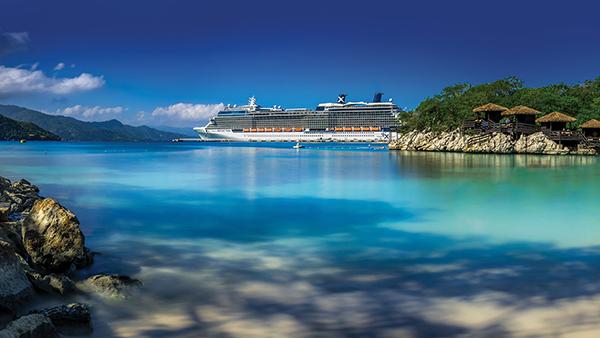 Celebrity cruise Karibia